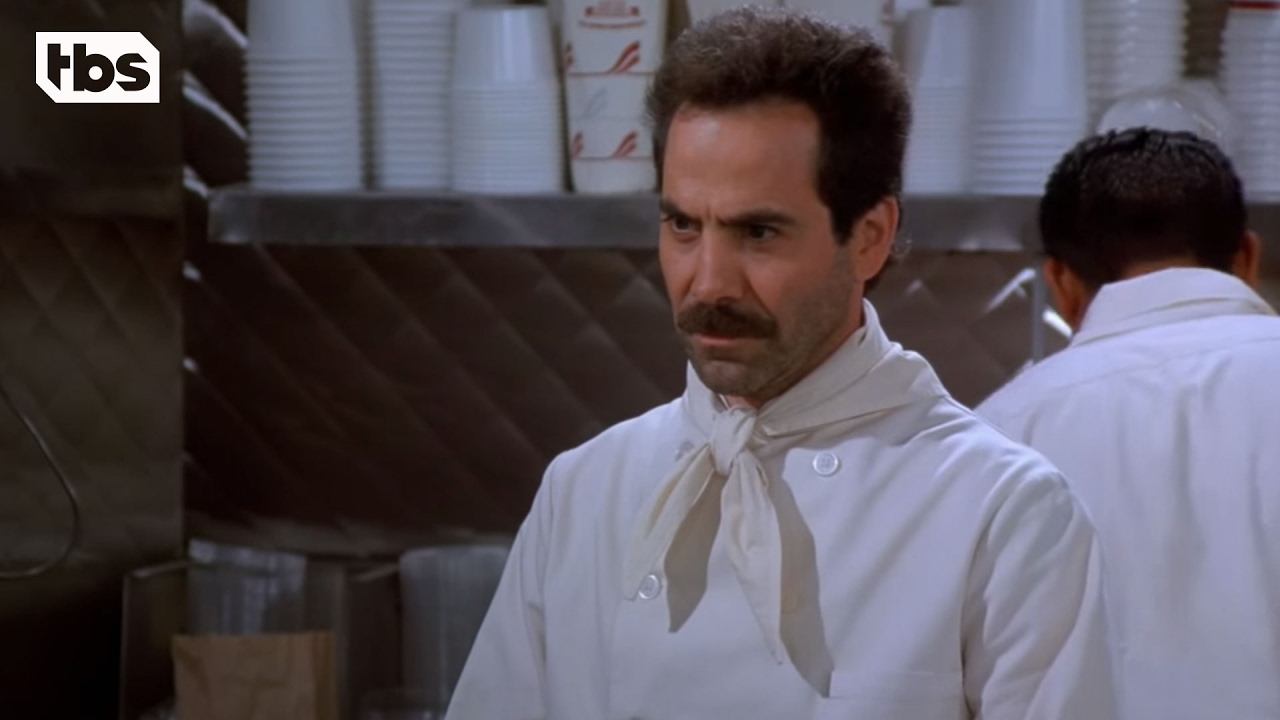 Soup Nazi in the Flesh