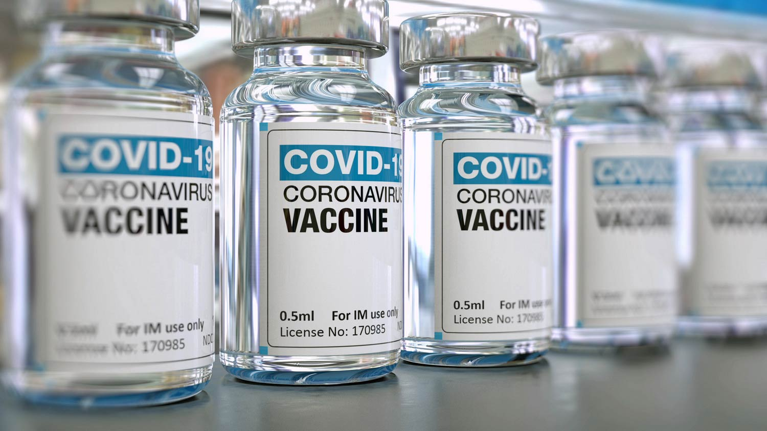 Competition on the global market for COVID - 19 vaccine development
